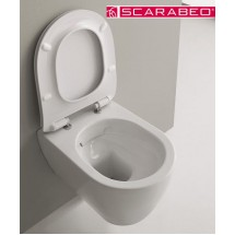 Vas + capac WC, SCARABEO - Moon, 50,5 x 36 cm
