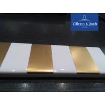Bordura gold & white - V&B - Creative System, 3 x 20 cm